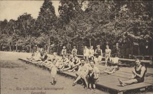 Sonnenbad, 1920er Jahre