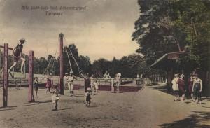 Turnplatz, vor dem Ersten Weltkrieg