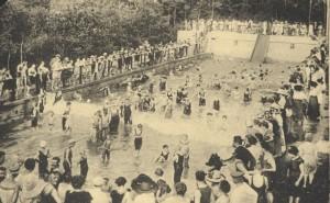 Undosa-Wellenbad, vor dem Ersten Weltkrieg